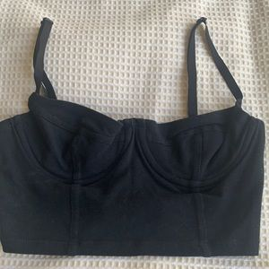 American Apparel bustier crop top size XS/S